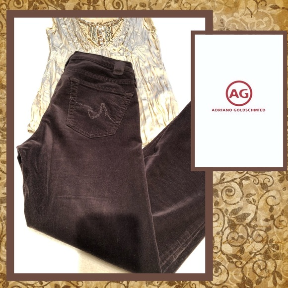 Ag Adriano Goldschmied Denim - 💫AG The Angel brown cords💫